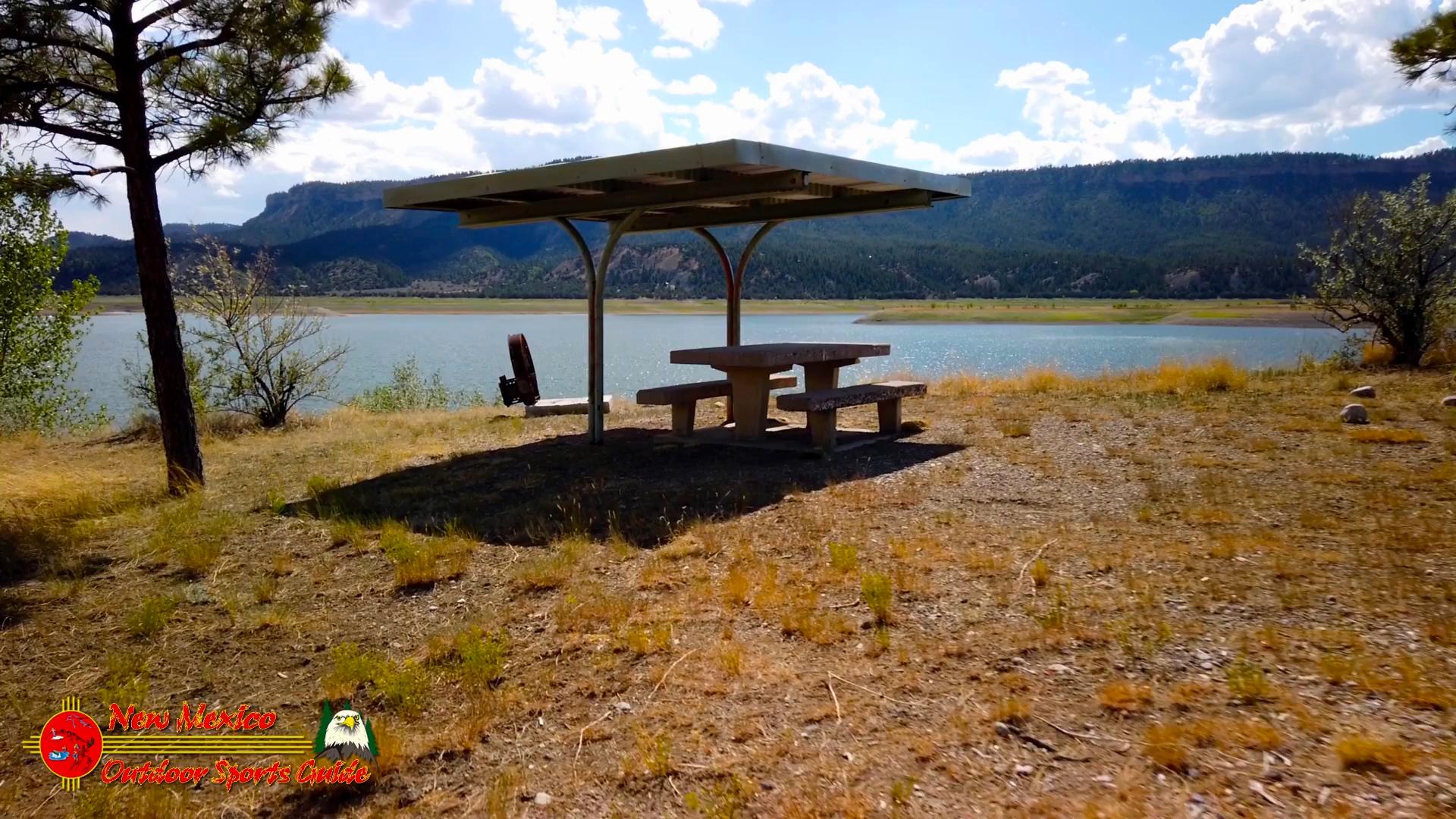 El-Vado-Lake-State-Park-Picnic-Table-Osmo-Pocket-07-14-2020